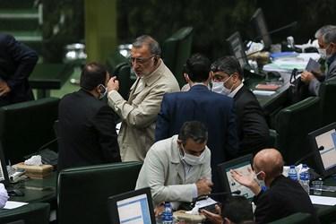علیرضا زاکانی، نماینده قم در مجلس شورای اسلامی در جلسه علنی مجلس/۱۵ تیر ۹۹