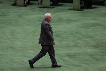 دکتر محمدجواد ظریف وزیر امور خارجه در جلسه علنی مجلس/۱۵ تیر ۹۹