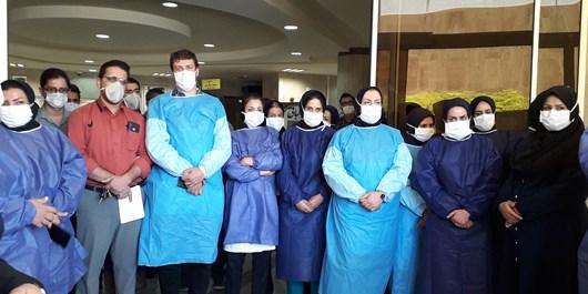 پزشکان و پرستاران بخش کرونای بیمارستان شهید جلیل یاسوج تجلیل شدند+ تصاویر