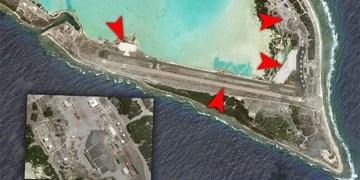 تصاویر ماهوارهای   ساختوسازهای نظامی واشنگتن در یک جزیره مرموز برای تقابل با پکن