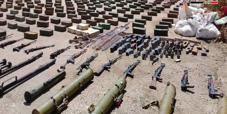 تسلیحات  به دست تروریستها در ادلب  سوریه نرسید