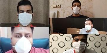فیلم | ورزشکاران خراسان شمالی هم «ماسک» میزنند