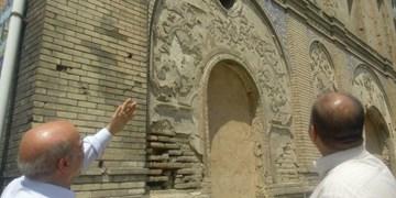 فیلم| کلاه گشاد میراث فرهنگی بر عمارت کلاه فرنگی