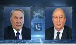 گفتوگوی تلفنی رئیس جمهور ارمنستان با «نظربایف»