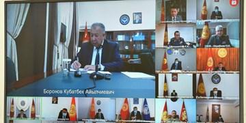 بررسی وضع مجدد شرایط فوق العاده در قرقیزستان