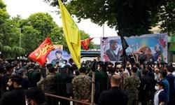 پایان انتظار ۴ ساله و مراسم تشییع شهید کمالی در ساری