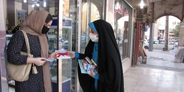ترویج حجاب با چاشنی کتاب/ نذر کتاب دختران اهوازی