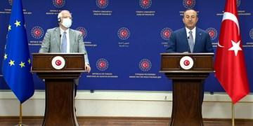 چاوشاوغلو: فرانسه در تلاش است اختلافاتش با ترکیه را به بروکسل منتقل کند