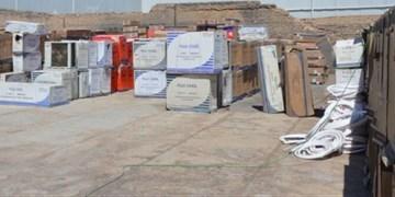 کشف ۲۱۰ دستگاه کولر گازی در شهرستان ری