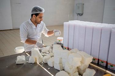 کارخانه تولید پنیر پاک در سال 1396 تاسیس شده و زمینه اشتغال بیش از 10 نفر را فراهم کرده است. روزانه حدود 3 تن پنیر تولید می شود(قلعه گنج ،کرمان)