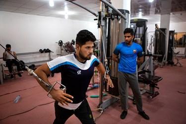 آقای  صادقی با دریافت وام نسبت به احداث باشگاه ورزشی در زمینی به مساحت 220 متر مربع اقدام کرده است