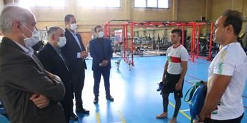 بازدید صالحیامیری از کمپ تمرینات مجازی کاروان اعزامی به المپیک