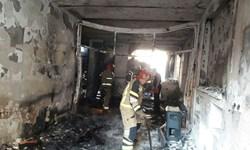 مصدومیت ۵ کارگر خیاطی بر اثر انفجار گاز شهری