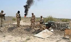 انهدام یک خودروی بمب گذاری شده و چهار مخفیگاه داعش در صلاح الدین عراق