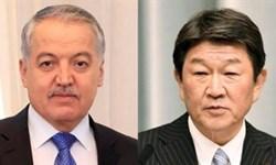 توسعه روابط محور گفتوگوی تلفنی وزرای خارجه تاجیکستان و ژاپن