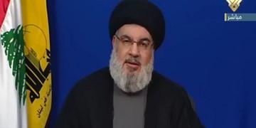 سید حسن نصرالله: سیاستهای تحریم و محاصره آمریکا علیه لبنان، حزبالله را قدرتمندتر خواهد کرد