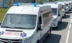 خرید 15 دستگاه آمبولانس چینی برای انتقال بیماران کرونایی در ازبکستان