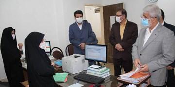 بازدید سرزده رئیس کل دادگستری استان تهران از حوزه قضائی اسلامشهر