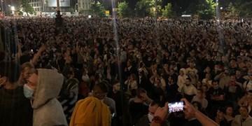 فیلم | کرونا، خیابانهای «بلگراد» را به صحنه جنگ تبدیل کرد