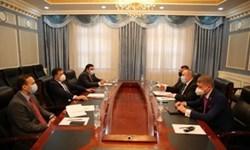 دیدار معاون وزیر خارجه تاجیکستان و سفیر اوکراین در «دوشنبه»