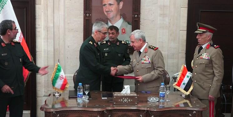 ایران و سوریه در زمینه همکاریهای نظامی و امنیتی توافق امضا کردند