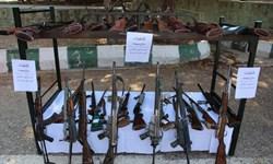 فیلم| کشف سلاحهای شکاری و جنگی در طرح امنیت اجتماعی خرمآباد
