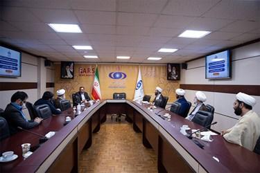 بازدید نماینده ولی فقیه  از خبرگزاری فارس