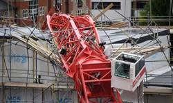 یک کشته و چند زخمی بر اثر سقوط چرثقیل ساختمانی در لندن
