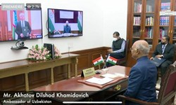 سفیر جدید ازبکستان استوارنامه خود را تقدیم رئیس جمهور هند کرد