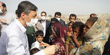 ساخت مراکز درمانى و برقرسانی در محلات حاشیه چابهار توسط بنیاد مستضعفان