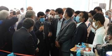 افتتاح خط ریسندگی کارخانه بافت بلوچ ایرانشهر