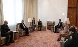 سرلشکر باقری با رئیس جمهور سوریه دیدار کرد