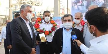 تجلیل استاندار هرمزگان از خدمه نفتکش بازگشته از ونزوئلا