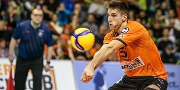 ملیپوش والیبال آلمان شاگرد آناستازی شد