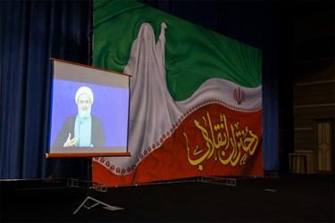 سخنرانی زنده حجتالاسلام پناهیان در مراسم اجتماع مجازی دختران  انقلاب