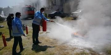 آموزش «اطفا حریق و آتشسوزی» در مدیریت بحران گلستان + تصاویر