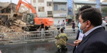 پاساژ توحید تهران به دلیل نبود ایمنی تخریب شد
