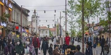 فیلم| رکورد بیشترین تجمع کرونایی در رشت