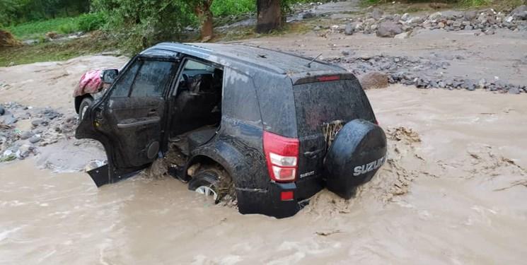 ۵ شهرستان آذربایجان شرقی درگیر سیلاب+ فیلم