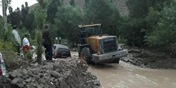 آبگرفتگی خانهها در  2  روستای مراغه/ خسارت به 40 خانه روستائیان