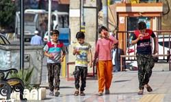 دمای خوزستان در اضطراب پنجاه درجه