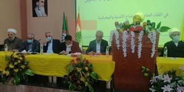 رئیس هیأت شرعی حزبالله: مسئولیت تمام مصیبتهای منطقه برعهده آمریکاست