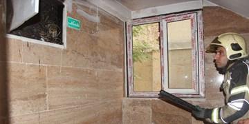نجات ۲۷ نفر در آتشسوزی منزل مسکونی جنوب تهران