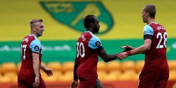 لیگ برتر انگلیس| پیروزی وستهام و لیدزیونایتد