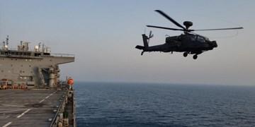 تمرین شبیه سازی شده آمریکا برای مقابله با قایقهای تندرو در خلیج فارس