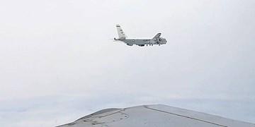 تقابل جنگندههای روسیه با هواپیمای جاسوسی آمریکا بر فراز «دریای ژاپن»