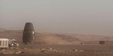 ساخت خانه های تخم مرغی در مریخ با چاپگر سه بعدی