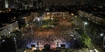 تظاهرات ۱۰ هزار نفری در تلآویو علیه سیاستهای نتانیاهو