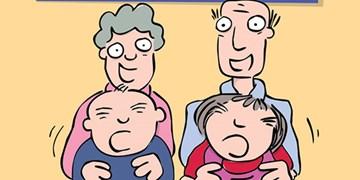 تا حالا به دردسرهای مادربزرگ و پدر بزرگ شدن فکر کردید؟