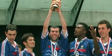 22 سال از نخستین قهرمانی فرانسه در جام جهانی  گذشت
